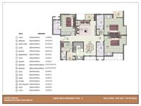 3 BHK - 1550 Sq. Ft.