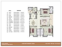 3 BHK - 1800 Sq. Ft.