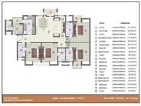 4BHK - 1950 Sq. Ft.