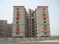 Flat for rent in AWHO Society with tight security