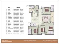 4BHK - 2100 Sq. Ft.