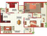 3 Bedroom Flat for sale in Gaur Global Village, Crossing Republik, Ghaziabad