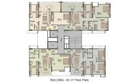Building 4C 1st Floor Plan