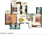 3 Bedroom Unit Plan