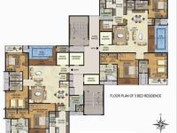 3 BR Residence