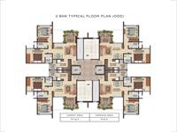 2BHK Floor Plan Odd