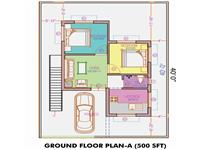 Ground Floor Plan 550 Sq Ft