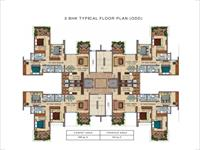 3BHK Floor Plan Odd