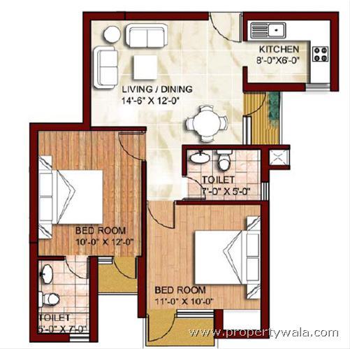 Logix blossom zest sector 143 noida residential for 840 sq ft house plans