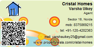 Visiting Card of Cristal Homes Pvt Ltd