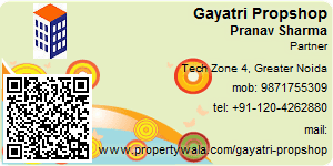 Visiting Card of Aryavarat Infraestate Pvt Ltd