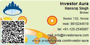 Visiting Card of Investor Aura Pvt Ltd