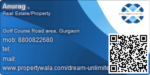 Visiting Card of Dream Unlimited Infraservice