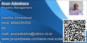 Arun Adeshara - Visiting Card