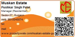 Pushkar Singh Patel - Visiting Card