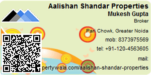 Visiting Card of Aalishan Shandar Properties