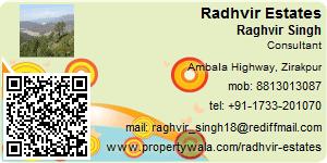 Raghvir Singh - Visiting Card