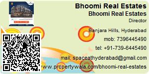 Bhoomi Rentals - Visiting Card