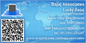 Lucky Bajaj - Visiting Card