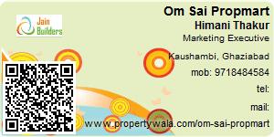 Visiting Card of Om Sai Propmart