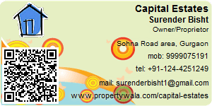 Visiting Card of Capital Estates