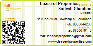 Visiting Card of Lease of Properties