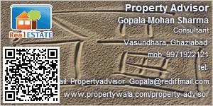 Visiting Card of Property Advisor