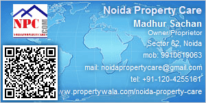 Visiting Card of Noida Property Care