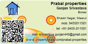 Visiting Card of Prabal properties