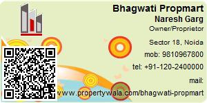 Visiting Card of Bhagwati Propmart