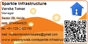 Visiting Card of Sparkle Infrastructure