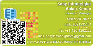 Visiting Card of Sony Infraheights