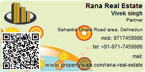 Visiting Card of Rana Real Estate