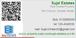 Visiting Card of Sujal Estates Pvt. Ltd.