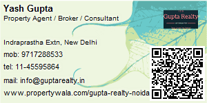 Visiting Card of Gupta Realty