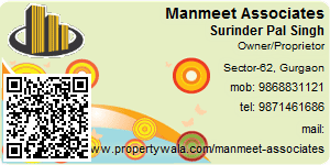 Visiting Card of Manmeet Associates