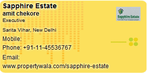 Visiting Card of Sapphire Estate