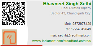 Bhavneet Singh Sethi - Visiting Card