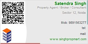 Visiting Card of Singh Propmart