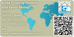 Visiting Card of Noida Property Dealers