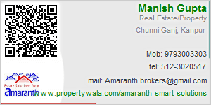 Visiting Card of Amaranth Smart Solutions