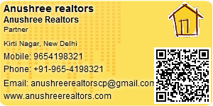 Anushree Realtors - Visiting Card