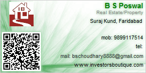 B S Poswal - Visiting Card