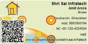 Visiting Card of Shri Sai Infratech