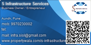S Infrastructure Services - Visiting Card