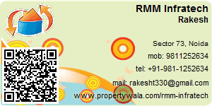 Visiting Card of RMM Infratech Pvt Ltd