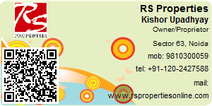 Visiting Card of RS Properties