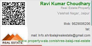 Visiting Card of Shree Balaji Real Estate