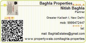 Visiting Card of Baghla Properties