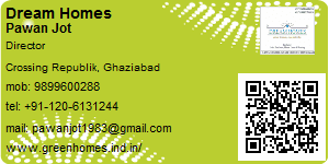 Visiting Card of Dream Homes